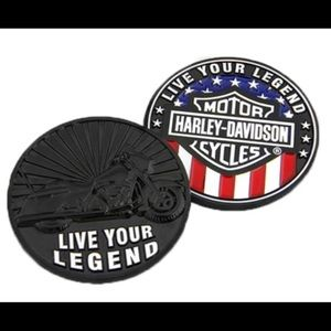 Harley-Davidson Live Your Legend Challenge Coin
